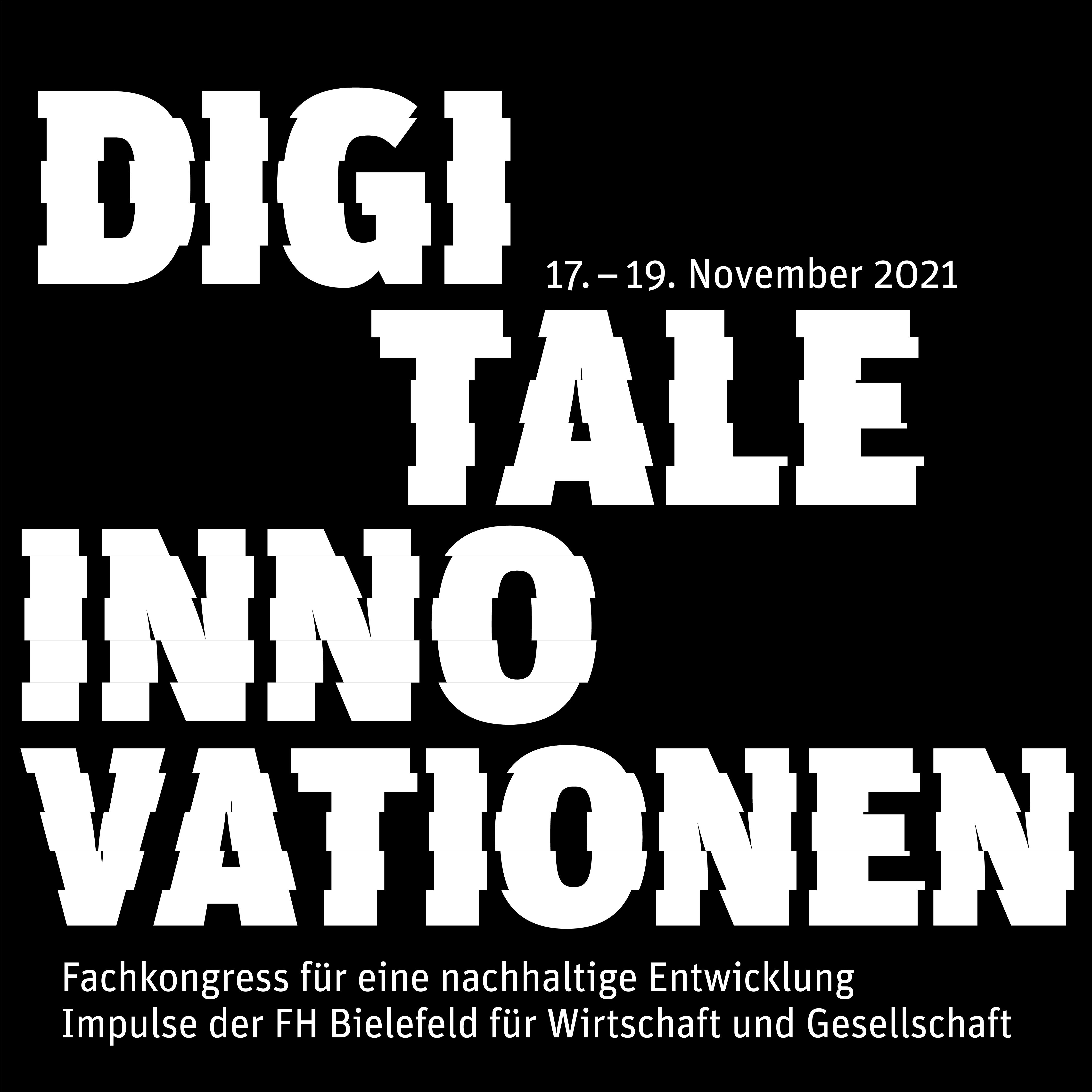 Logo Fachkongress Digitale Innovationen für eine nachhaltige Entwicklung