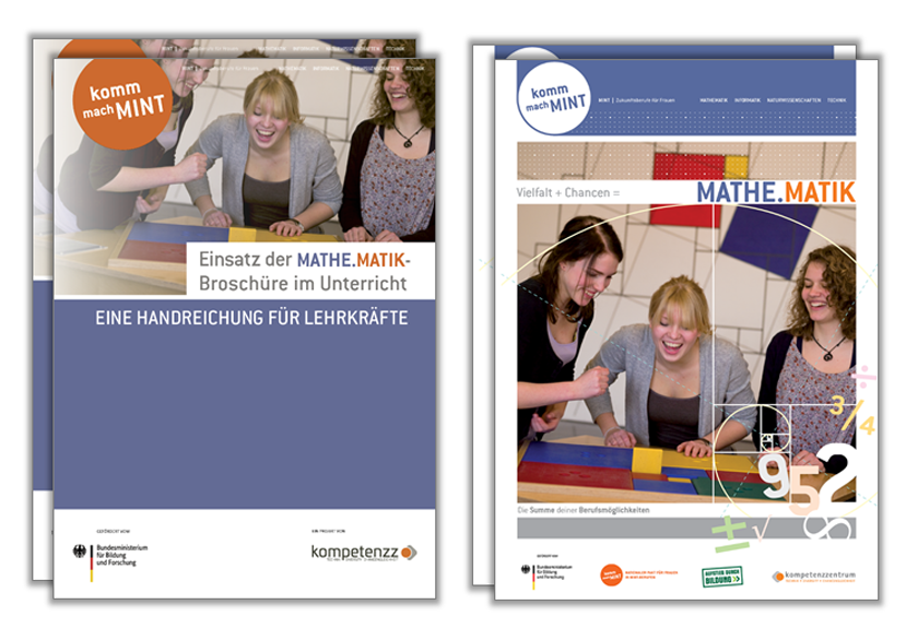 Titelbild Handreichung und Broschüre Mathematik