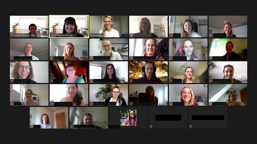 Screenshot Online-Workshop Marke ICH