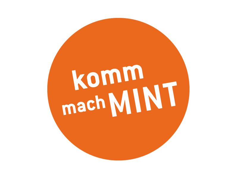 Logo Komm, mach MINT