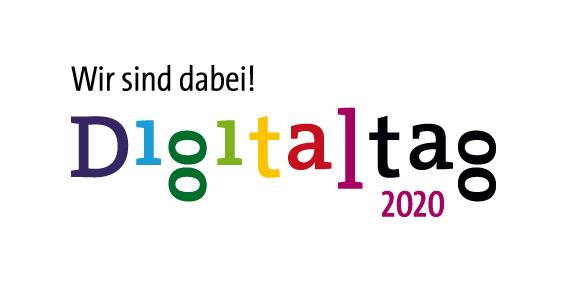 Logo Digitaltag 2020 - Wir sind dabei!