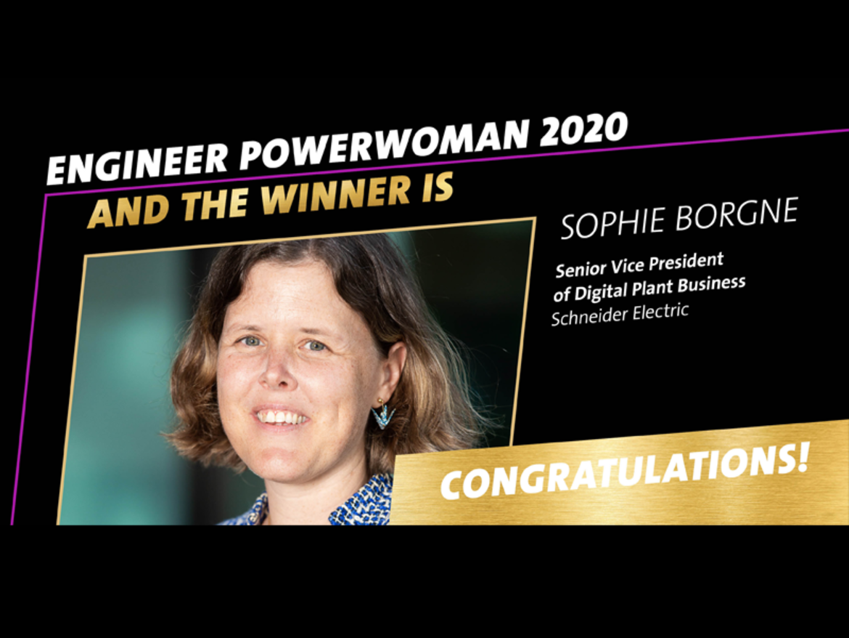 Engineer Powerwoman 2020 Sophie Borgne