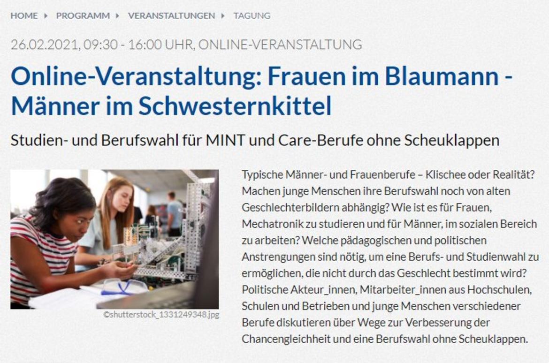 Webseite der ev-akademie-boll.de