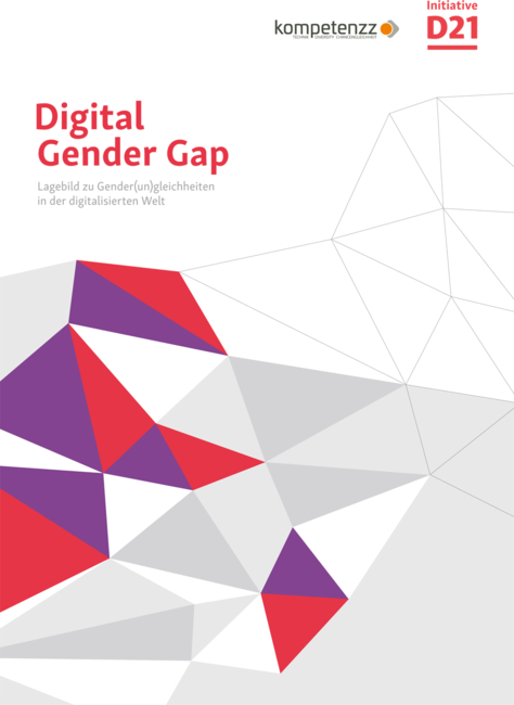 "Titelbild der Studie ""Digital Gender Gap"""