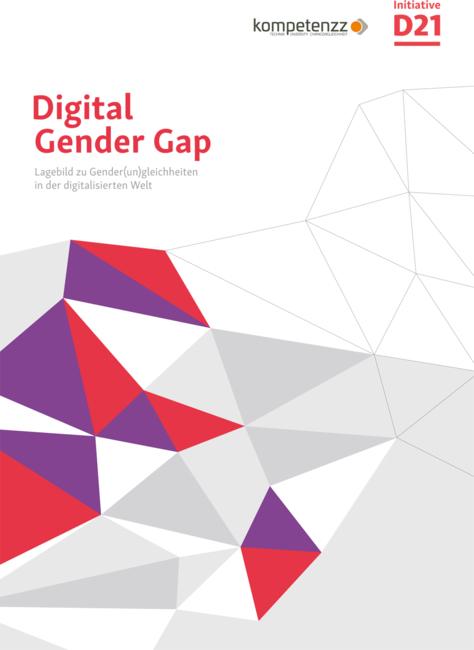 """Titelbild der Studie """"Digital Gender Gap"""""""