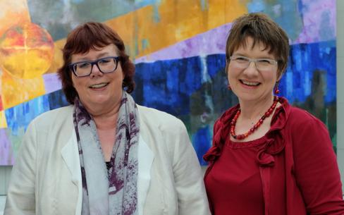 Prof. Barbara Schwarze und Prof. Dr. Nicola Marsden