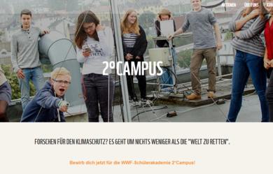 Screenshot der Webseitewwf-jugend.de
