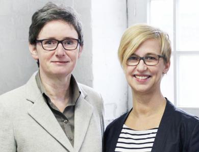 Dr. Ulrike Struwe und Sabine Mellies