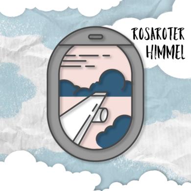 Logo Podcast Rosaroter Himmel
