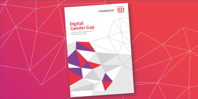 Titelbild Digital Gender Gap