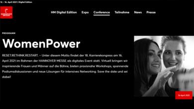 Webseite hannovermesse.de
