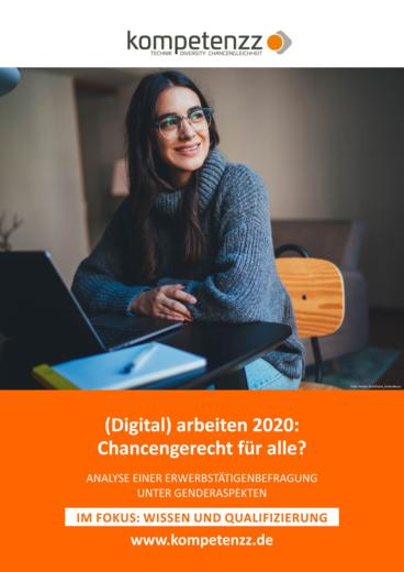 Titelbild der Studie (Digital) arbeiten 2020